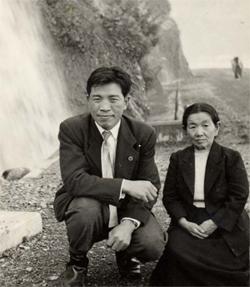 田中皎一氏と藤川マキヱ氏